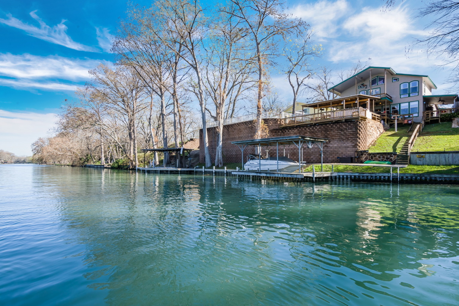 Lake Dunlap Waterfront Home For Sale