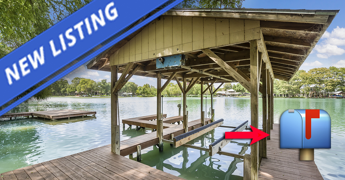 Lake Houses For Sale in Texas
